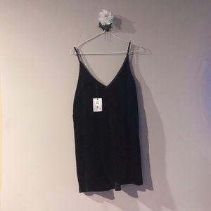 Dresses & Skirts - Velvet sleeveless dress